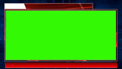 news studio green screen background breaking news template