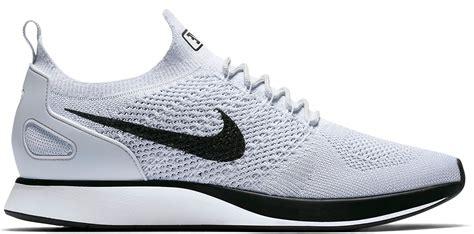 Diskon Sepatu Sneakers Nike Racer Flyknit Platinum Premium nike air zoom flyknit racer premium platinum
