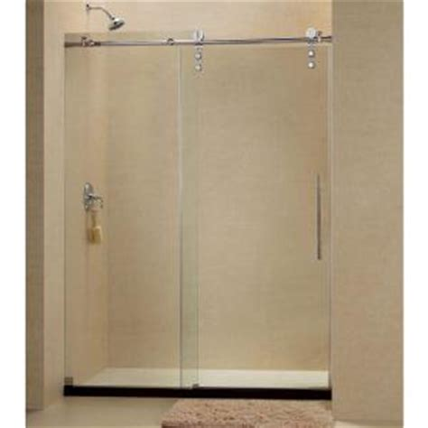 Dreamline Enigma Z 44 To 48 In X 76 In Frameless Sliding 44 Shower Door