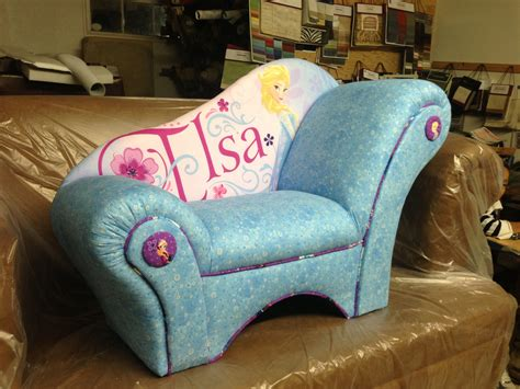 Frozen Furniture by Chaise Lounge Made With Disney S Frozen Fabric