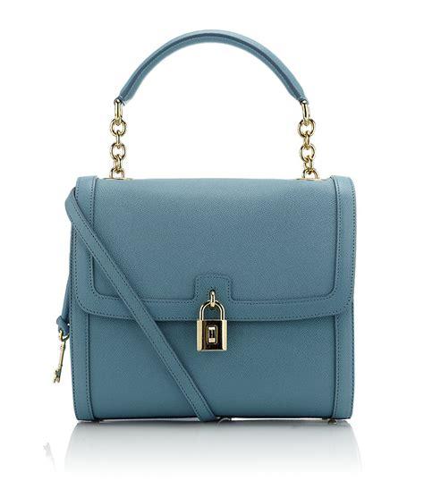 Dg Dolce And Gabbana Suzanne Satchel by Dolce Gabbana Dolce Handbag In Blue Leopard Lyst