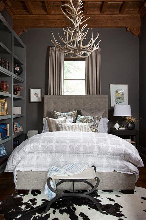 deer in bedroom magnificent euro pillow shams in bedroom mediterranean with deer antler chandelier