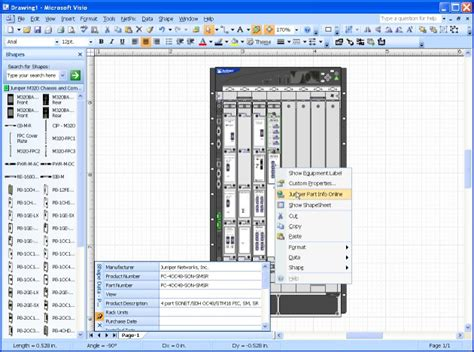 visio telecom stencils visimation provides juniper networks with custom visio shapes