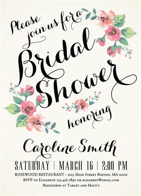 printable vintage bridal shower invitations printable bridal shower invitation vintage floral