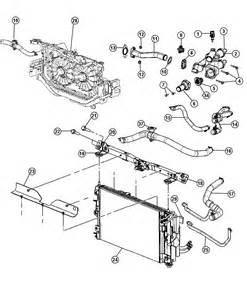 2007 Dodge Caliber Parts 2007 Dodge Caliber Radiator And Related Parts