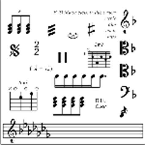 visio song staff scribe visio stencil set for musicians free