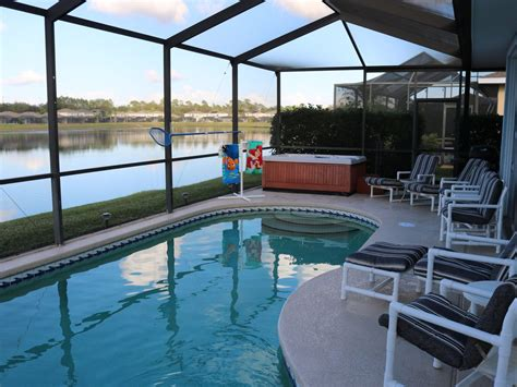 vacation home with pool lakefront vacation villa tub pool vrbo