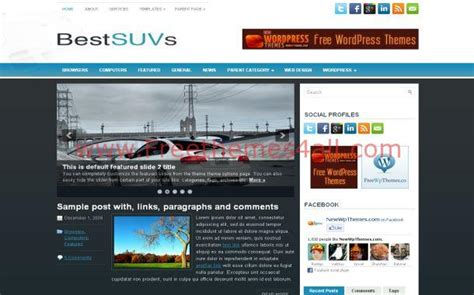 wordpress themes free blue cars grunge blue wordpress theme jpg freethemes4all