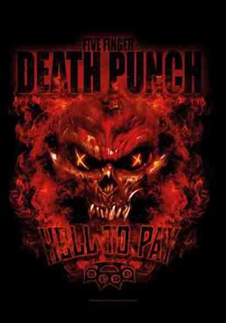 five finger death punch demon inside lpgi five finger death punch fabric posters music wall