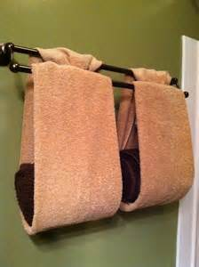Towel Folding Ideas For Bathrooms Pin By Maureen Kotze Scott On Towel Folding Pinterest