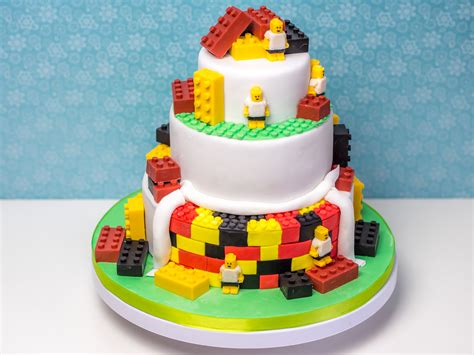 Hochzeitstorte Lego by Lego Torte Zur Fu 223 Em Ofenkieker