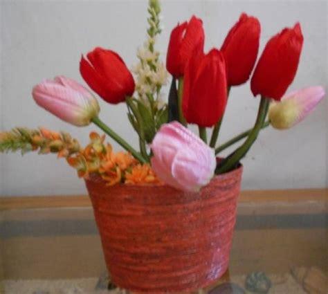 membuat bunga dari kertas biasa membuat vas bunga dari kertas koran tutorial lain lain