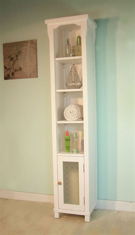tall bathroom storage new england white painted furniture tall bathroom cabinet
