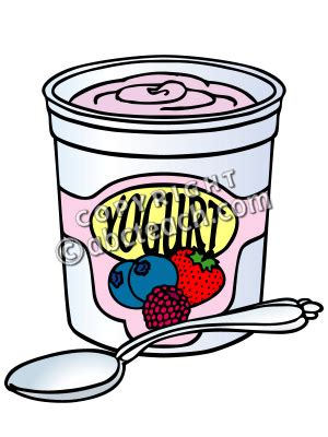 Yogurt Clipart