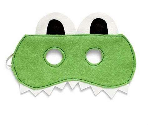 crocodile mask template crocodile mask cocodrils