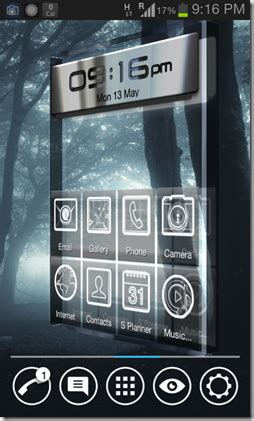vire themes for android free android launcher with 3d transition effects vire
