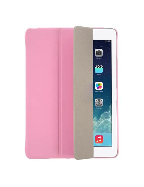 Casing Crown Flip Leather Air Black And Pink pink for air 5 tri folding smart leather flip