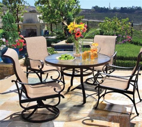 hanamint alumont outdoor furniture santa barbara outdoor