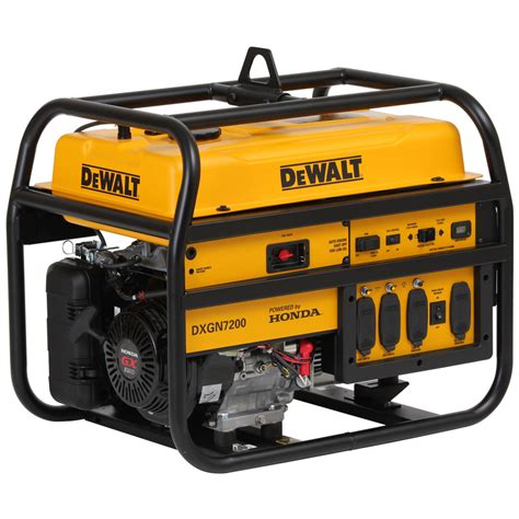 shop dewalt 6 100 running watts portable generator with