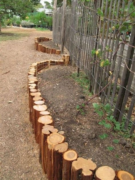 cool garden edging ideas  pursue homesthetics