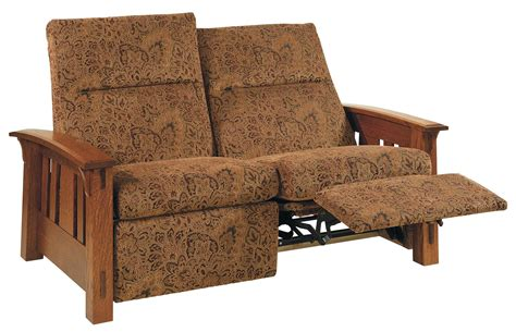 mission loveseat recliner sc 1 st dutchcrafters amish mccoy mission recliner