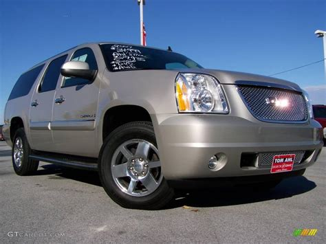 2007 gold mist metallic gmc yukon xl denali awd 20447350 gtcarlot car color galleries