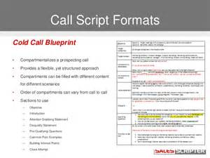 cold calling template how to build a cold call script that works