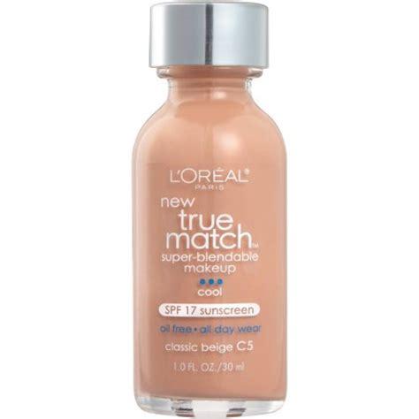 L Oreal True Match Blendable Makeup Spf 17 l oreal true match blendable liquid makeup