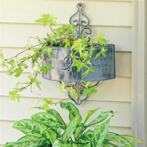 metal wall planter sted metal wall planter