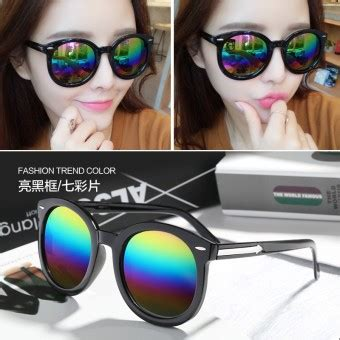 Kacamata Wanita Bulat Kacamata Hitam Gaya Sunglasses Krista Keren harga ive kacamata hitam gaya retro indonesia ayo belanja
