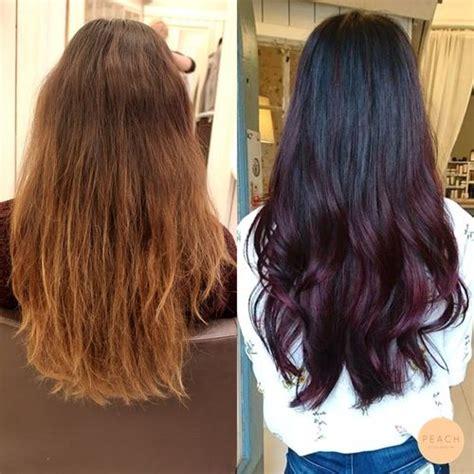 aubergine hair color best 25 aubergine hair color ideas on plum