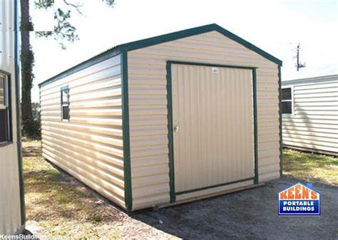How To Build A 12x20 Storage Shed by Metal Sheds Keen S Buildings