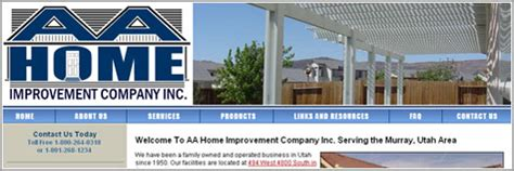 Aa Home Improvement Company In Kmweb Designs Our Portfolio Boise Idaho And National