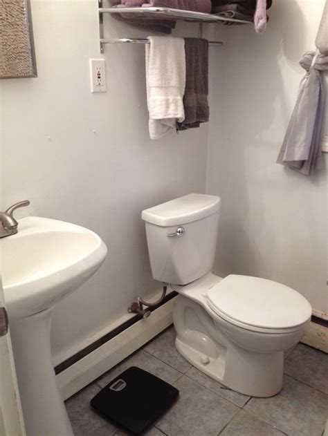 Need HELP for my very small Master Bathroom ( 5 x 6)