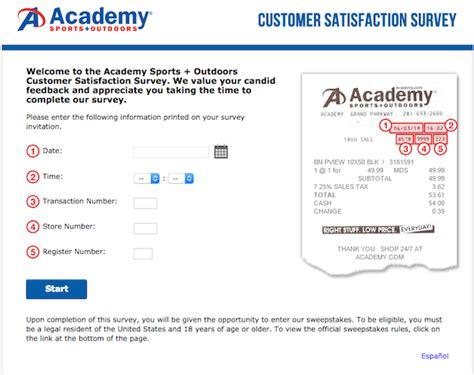 Academy Com Gift Card - www academyfeedback com take part in the academy sports outdoors customer
