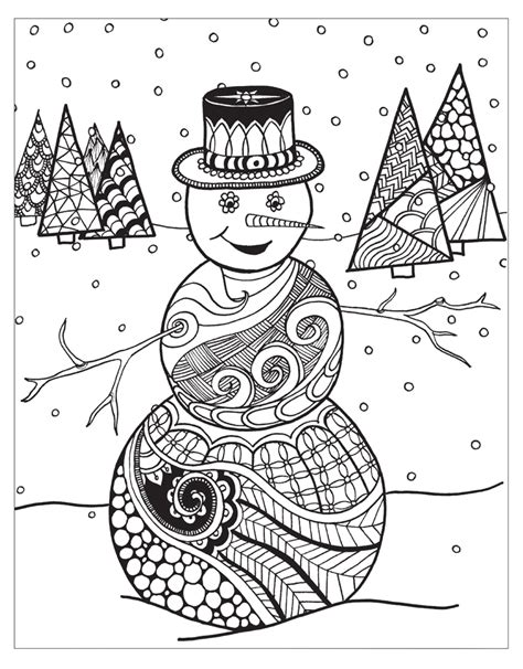 Zendoodle Coloring: Winter Wonderland   Jodi Best   Macmillan