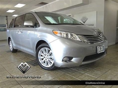 how to fix cars 2012 toyota sienna navigation system purchase used 2012 toyota sienna limited awd navigation dvd 1 owner in mundelein illinois