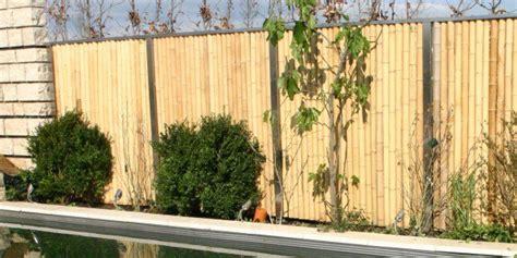 Terrassen Sichtschutz Kunststoff 296 by Bambus Sichtschutzzaun Garten Sichtschutz Aus Nat Rlichen