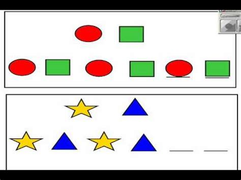 gifted pattern recognition pattern test for kindergarten 1000 ideas about teaching
