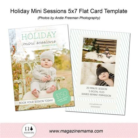 Mini Card Templates by Free Photography Marketing Templates