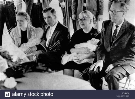 June Oswald Also Search For Harvey Oswald S Funeral Marina Oswald His Widow Holding Their Stock Photo Royalty Free