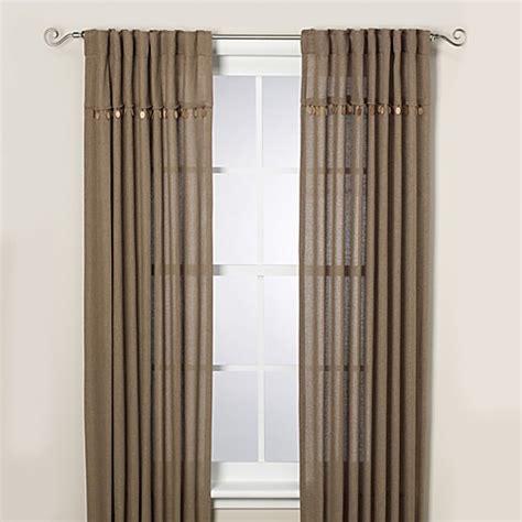 bed bath beyond curtain panels chelsea window curtain panels bed bath beyond