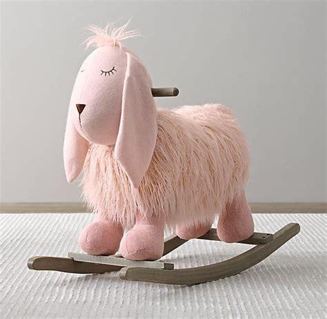 plush sheep rockers animal rocker