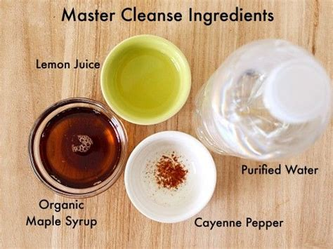 Master Cleanse Lemonade Water Detox Diet by 25 Best Ideas About Lemon Cleanse On Cleanses