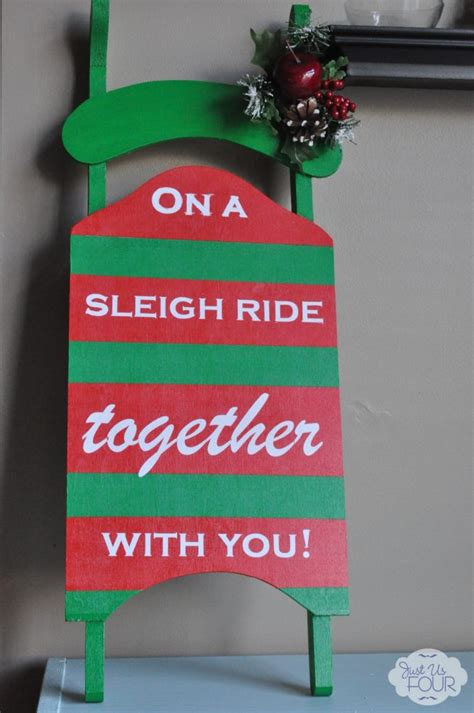 sleigh christmas crafts let s go on a sleigh ride my suburban kitchen