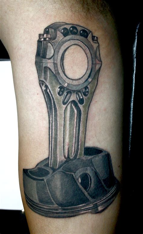 piston tattoo designs piston tattoos