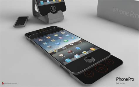 Iphone Pro Iphone Pro Concept Possibly The Best Iphone 4g Design Concept Phones
