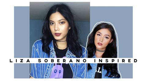 by request liza soberano make up tutorial liza soberano inspired makeup tutorial nazrenegutz youtube