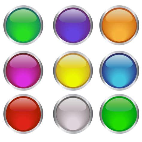 design icon button free round glass button web design vector 04 welovesolo