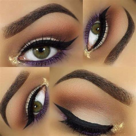 Eyeshadow Or Eyeliner 31 pretty eye makeup looks for green stayglam